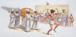 David Dancing before the Lord