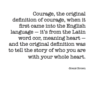definition of courage